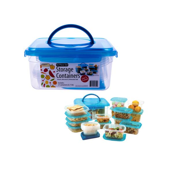 Storage Container Set With Handle