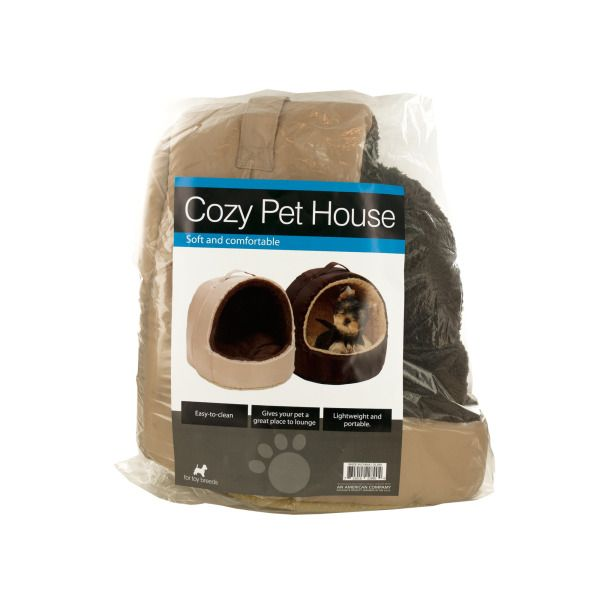 Cozy Portable Pet House With Carry Handle