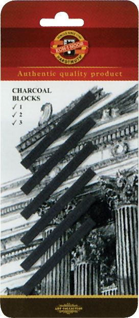 Charcoal Blocks, 6 Pack Carded