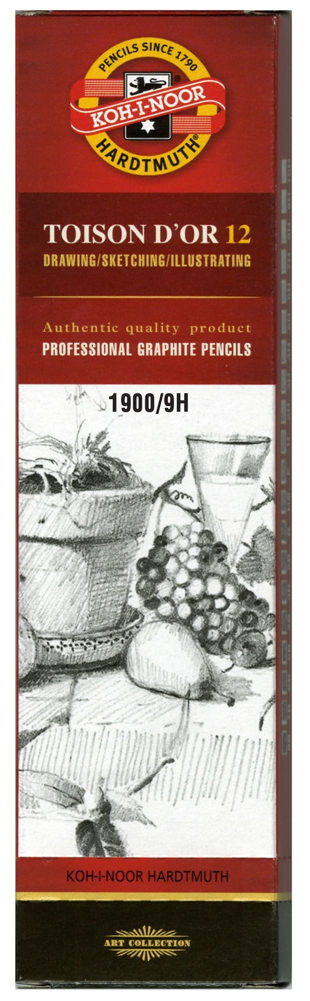Toison D'or Graphite Pencil 9h