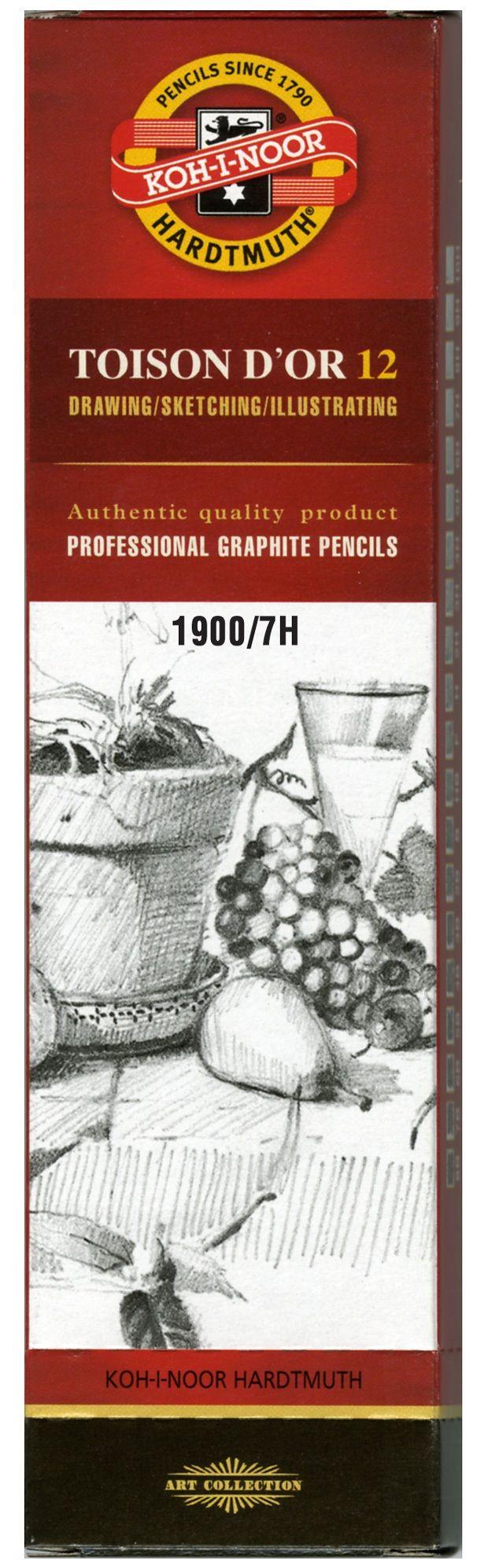 Toison D'or Graphite Pencil 7h