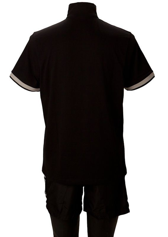 Killerspin Collar Boy Shirt: Black/Grey, Small