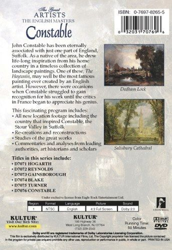 The English Masters: Constable