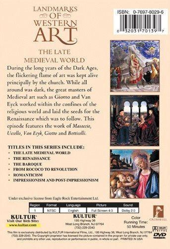 Landmarks Of Western Art: The Late Medieval World