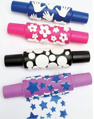 Ready 2 Learn Paint Rollers - Creative - Set 2 - Set Of 4