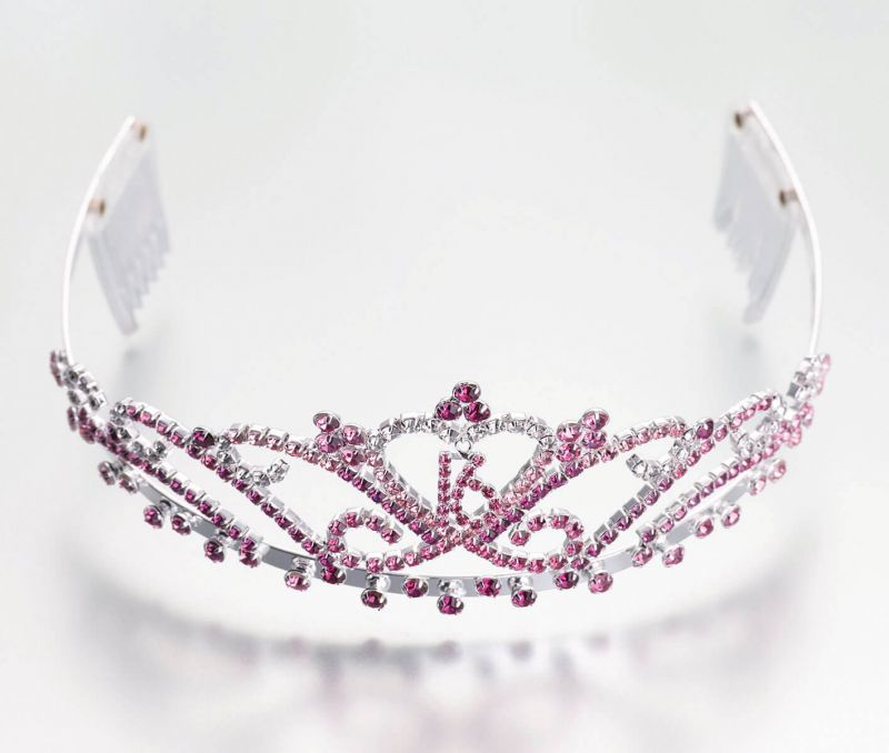 Pink Sweet Sixteen Tiara