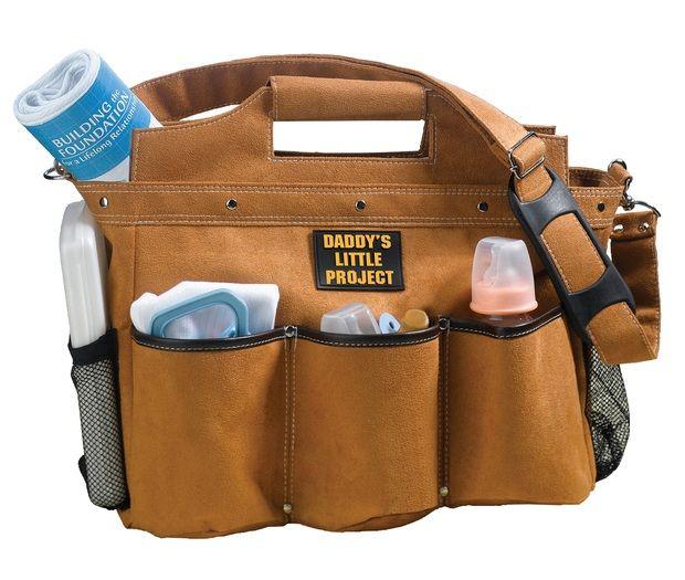 Construction Builder Daddy Diaper Bag