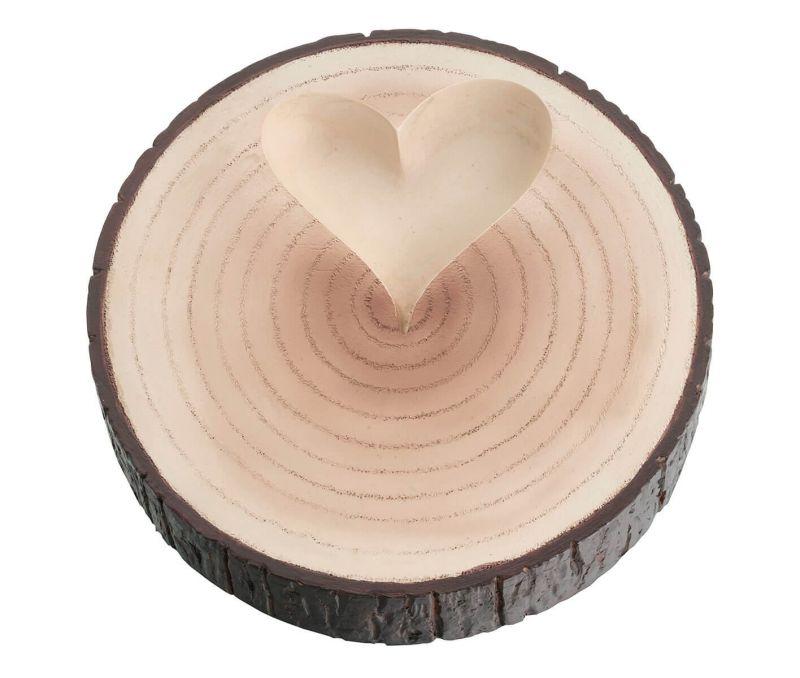Wood Slice Ring Holder