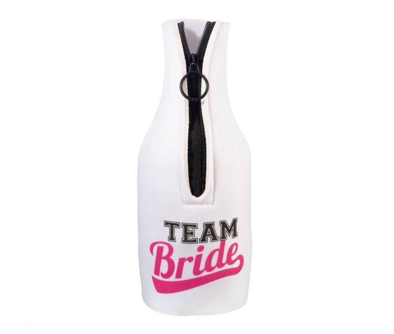Team Bride Bottle Cozy
