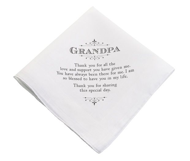 Grandpa Keepsake Hankie
