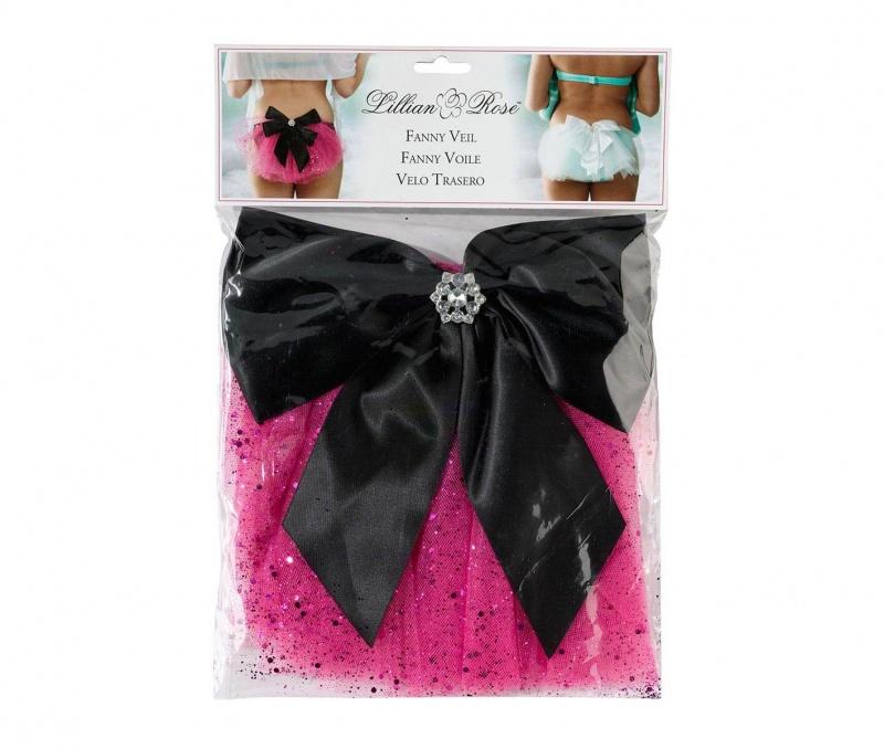 Bachelorette Party Pink Bikini Veil