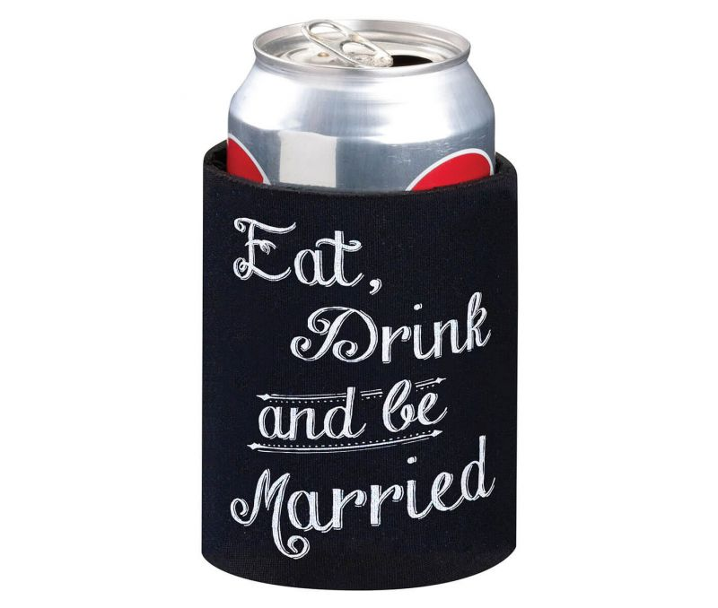 Eat, Drink & Be Married Cup Cozy
