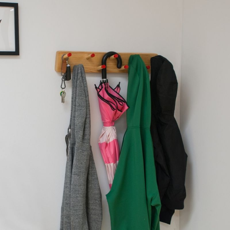 All-Purpose Wall Coat Rack