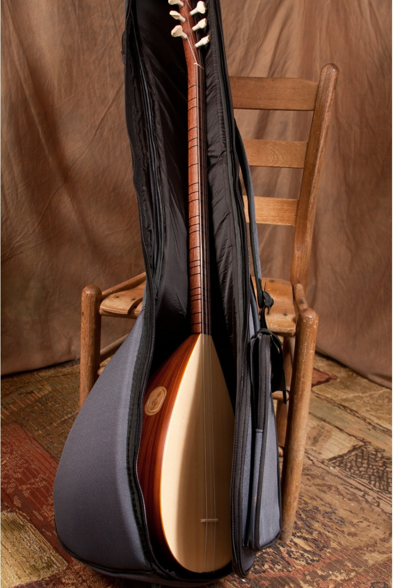 """Mid-East Deluxe Gig Bag For Long Neck Saz 47""""X11"""""""