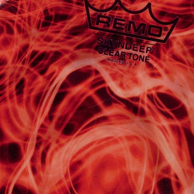 "Remo Skyndeep Clear Tone R Series Doumbek Head 9""x1/2"" - Orange Mist"