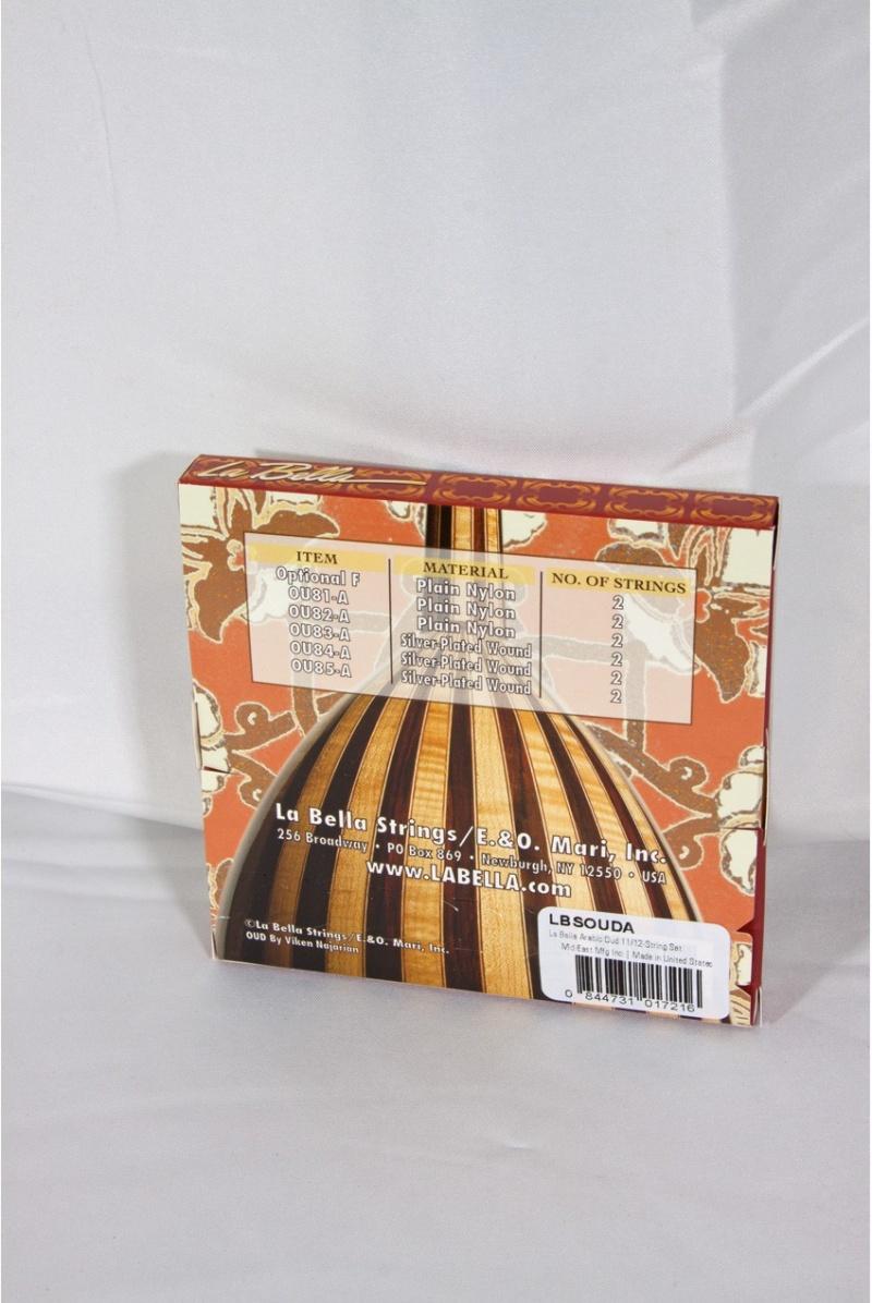 La Bella Arabic Oud 11/12-String Set