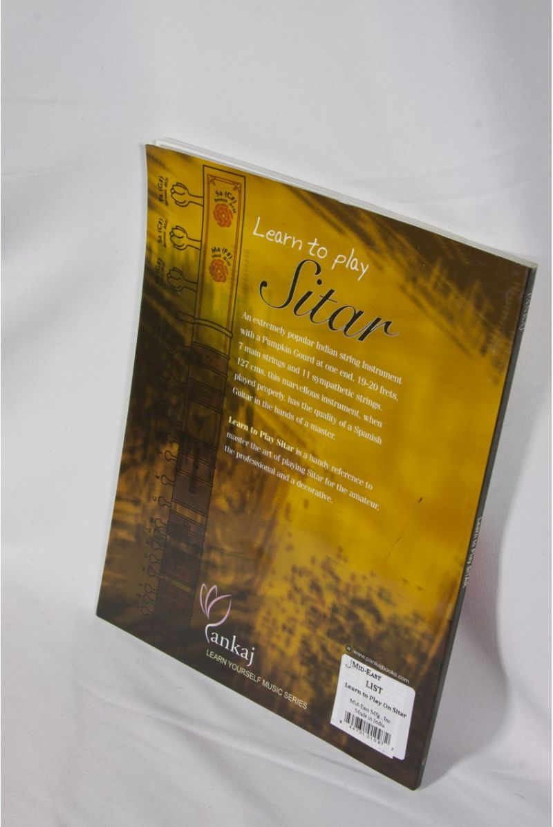 Pankaj Learn To Play On Sitar Book By Ram Avtar Vir