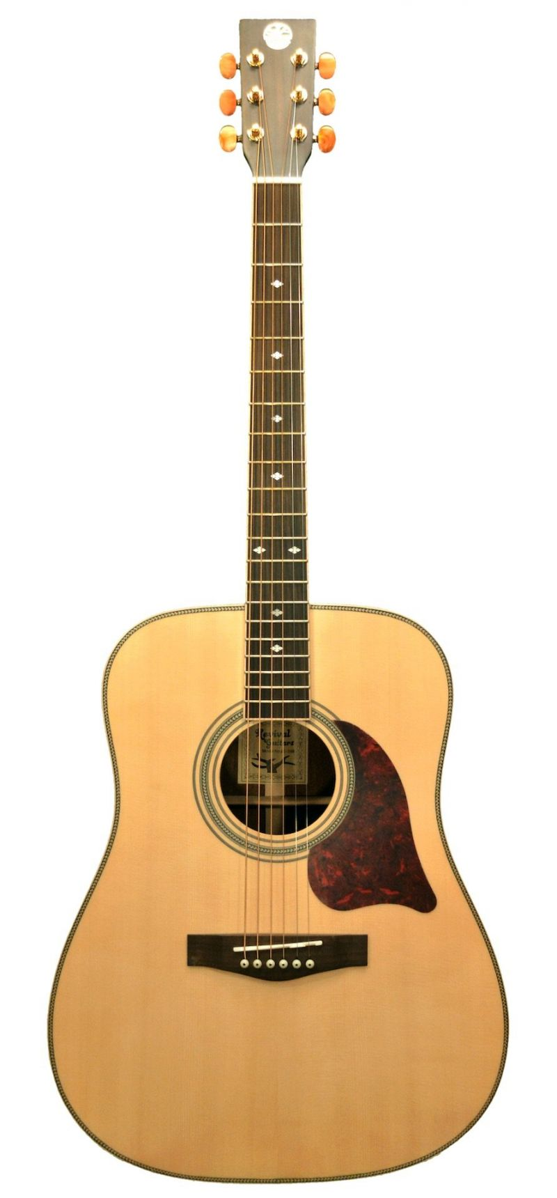 Revival Matte Solid Spruce Rosewood Dreadnought Guitar