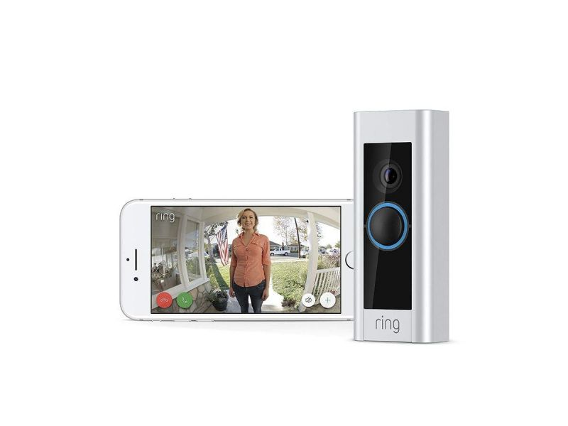 Ring - Video Doorbell Pro - Satin Nickel 88Lp000ch000-1