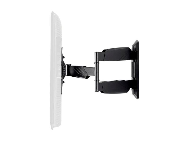 Monoprice Commercial Series Low Profile Full-motion Articulating Tv Wall Mount Bracket For Led Tvs 24in To 55in, Max Weight 77 Lbs., Vesa Patterns Up To 400x400, Rotating , Ul Certified