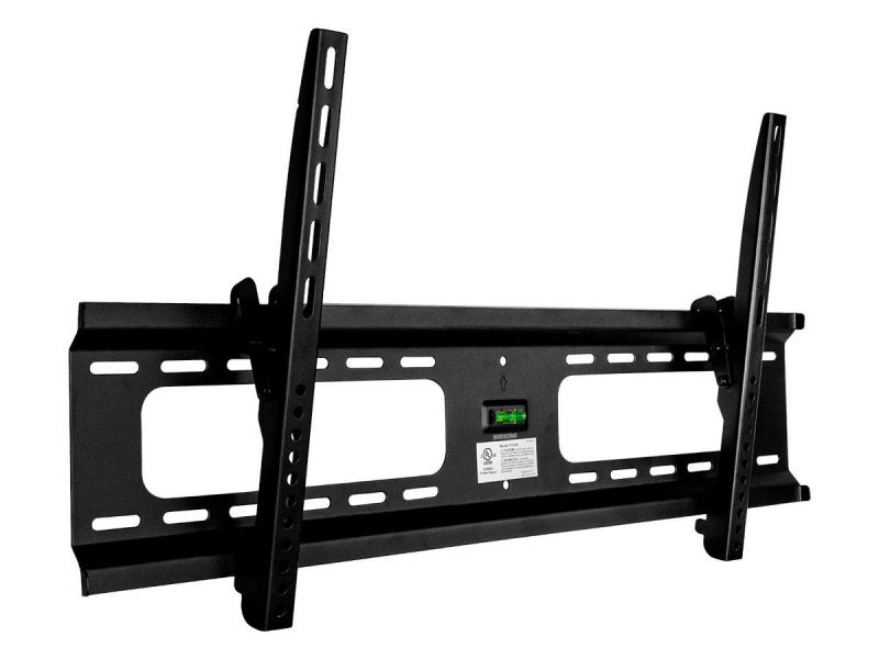 Monoprice Ez Series Extra Wide Tilt Tv Wall Mount Bracket For Led Tvs 37In To 70In, Max Weight 165 Lbs, Vesa Patterns Up To 800X400, Ul Certified