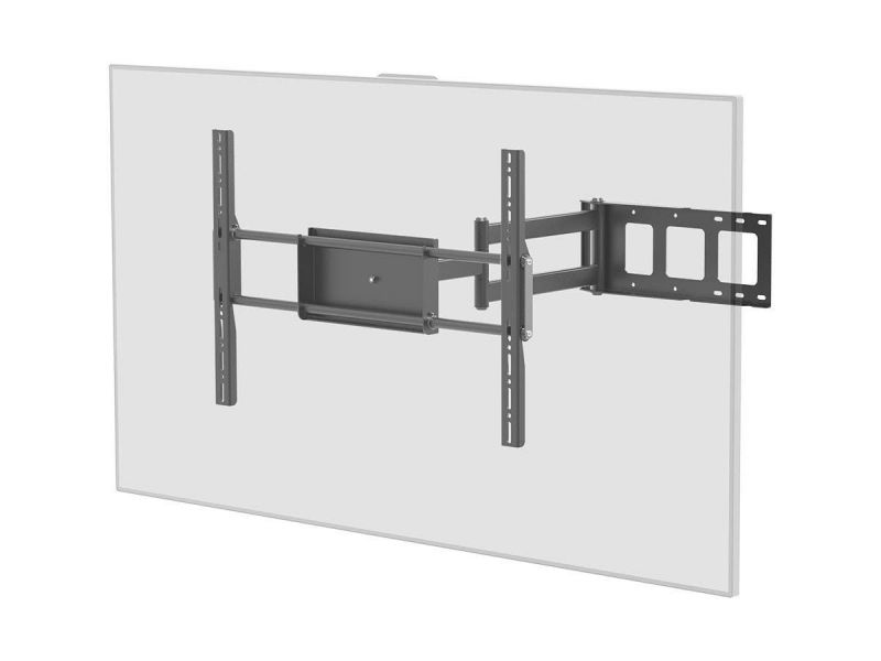 Monoprice Ez Series Corner Friendly Full-Motion Articulating Tv Wall Mount Bracket For Led Tvs 37In To 70In, Max Weight 110 Lbs, Extension Range Of 5.5In To 28.6In, Vesa Patterns Up To 700X500