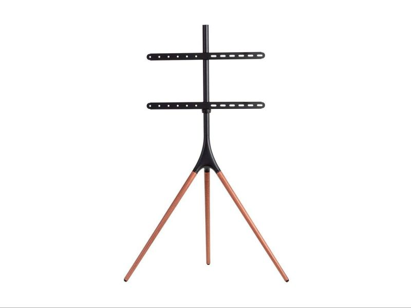 """Monoprice Studio Easel Tripod Tv Stand & Mount For Displays 45"""" To 65"""" Up To 77 Lbs. With Vesa Up To 600x400"""