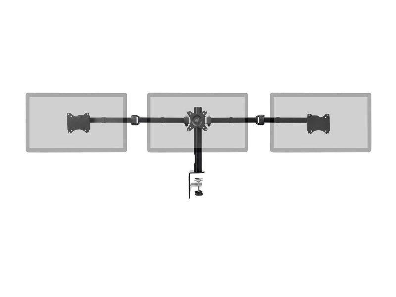 Monoprice Essential Triple Monitor Articulating Arm Desk Mount