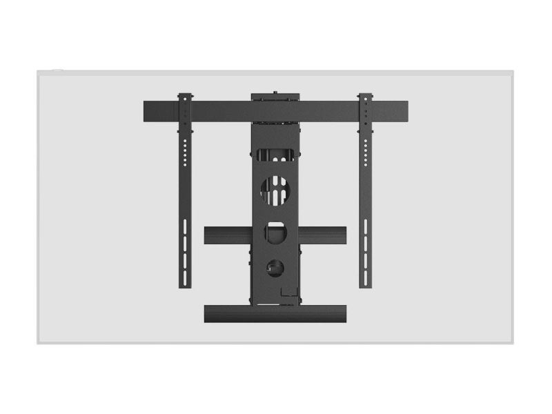 Monoprice Motorized Above Fireplace Mantel Pull-Down, Full-Motion, Articulating Tv Wall Mount Bracket - For Led Tvs Between 50In And 100In, Max Weight 110Lbs, Vesa Patterns Up To 800X600