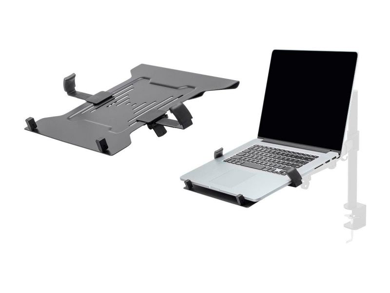 Workstream By Monoprice Laptop Holder Attachment For Lcd Desk Mounts