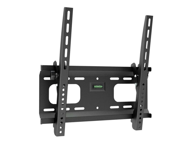 Monoprice Commercial Series Low Profile Tilt Tv Wall Mount Bracket For Led Tvs 32in To 55in, Max Weight 165lbs, Vesa Patterns Up To 400x400, Ul Certified