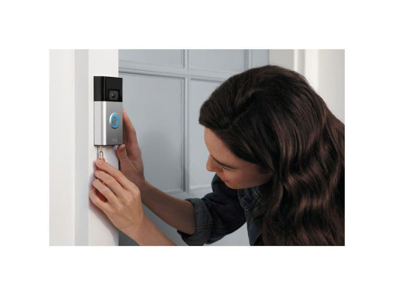 Ring - Video Doorbell (2Nd Gen) - Satin Nickel - 8Vr1sz-Sen0