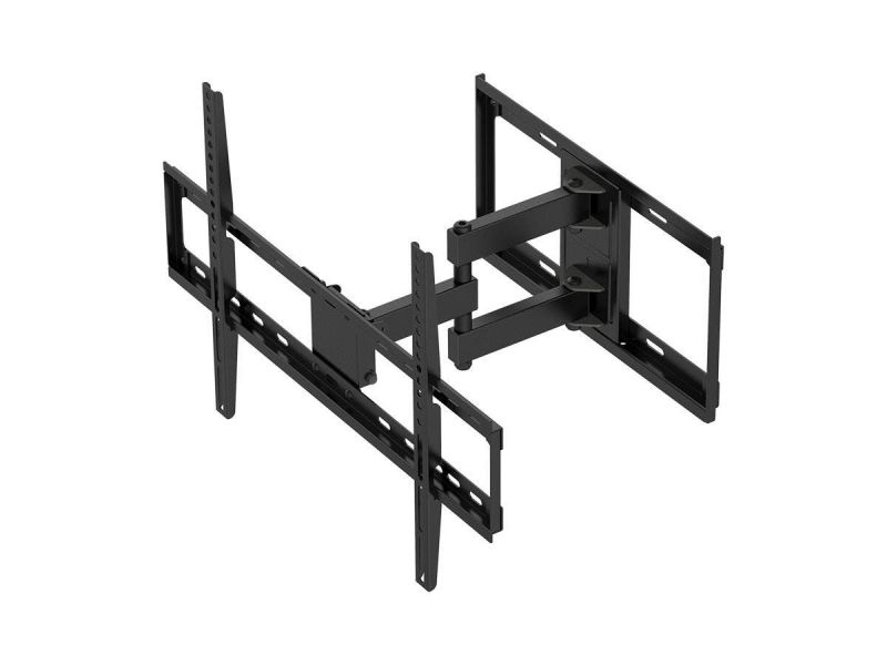 Monoprice Ez Series Full Motion Articulating Tv Wall Mount Bracket - For Led Tvs Up To 75In, Max Weight 77 Lbs., Extension Range 3.9In To 15In, Vesa Patterns Up To 600X400, Rotating