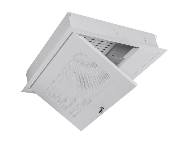 Mono X 2 Ft. Locking Suspended False Ceiling A/v Equipment Storage Enclosure And Gearbox