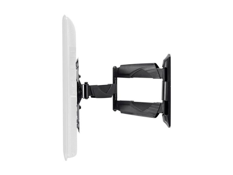 Monoprice Ez Series Full-Motion Articulating Tv Wall Mount Bracket For Led Tvs 23In To 55In, Max Weight 77Lbs, Vesa Patterns Up To 400X400, Rotating, Ul Certified