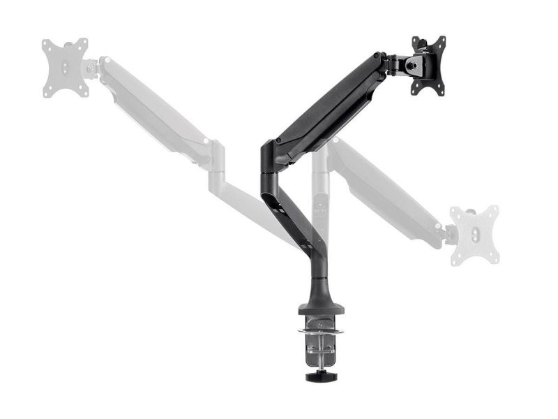 Workstream By Monoprice Adjustable Gas Spring Desk Mount For 15~34In Monitor