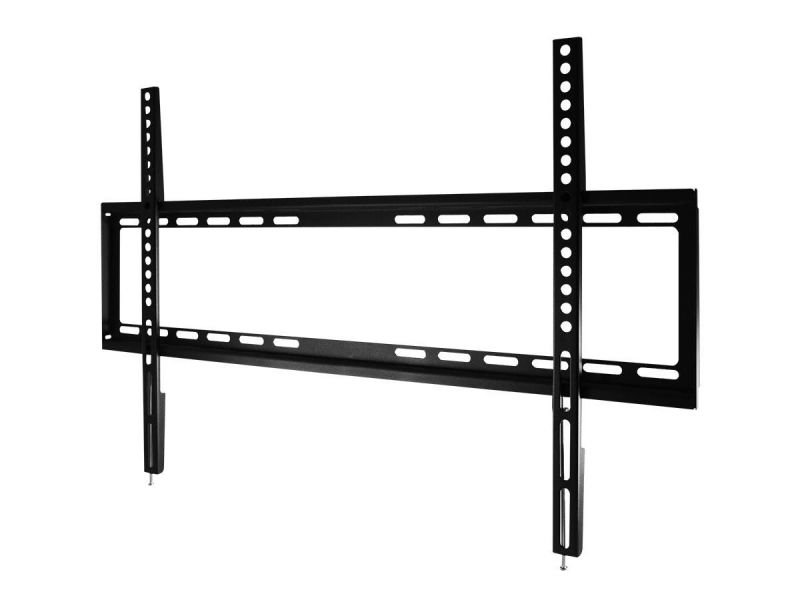 Monoprice Ez Series Low Profile Fixed Tv Wall Mount Bracket For Led Tvs 46in To 70in, Max Weight 77lbs, Vesa Patterns Up To 600x400, Ul Certified