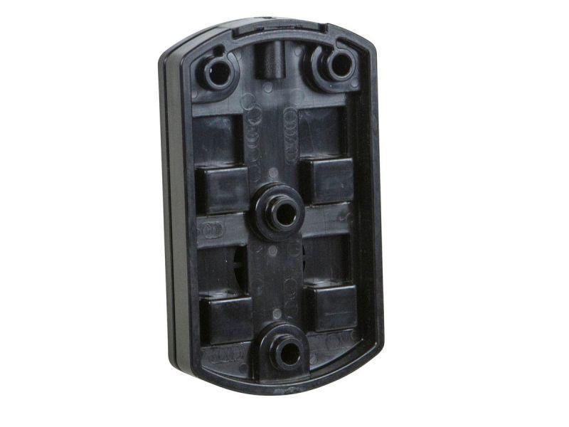 Monoprice Low Profile 22 Lb. Capacity Speaker Wall Mount Brackets (pair), Black
