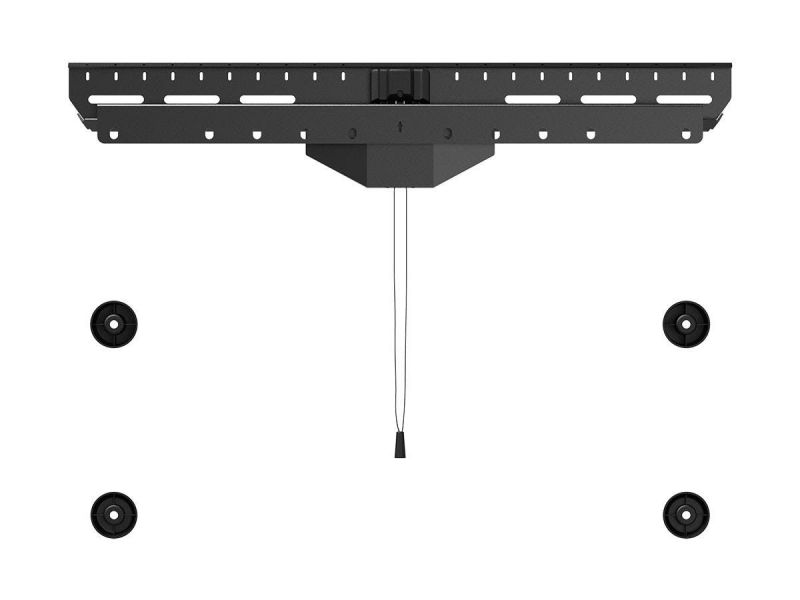 Monoprice Slimselect Series No Stud Hanger Low Profile Fixed Tv Mount With Tilting Spacers For Led Tvs 37in To 80in, Max Weight 110 Lbs., Vesa Patterns Up To 600x400