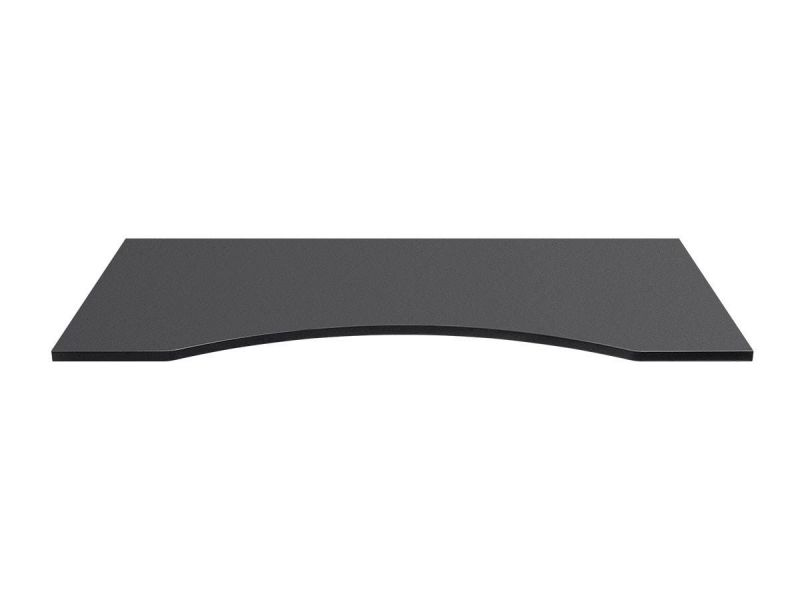 Workstream By Monoprice Table Top For Sit-stand Height Adjustable Desk, 5ft Black
