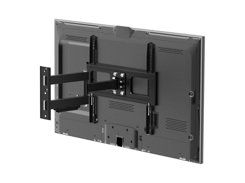 Monoprice Ez Series Outdoor Full Motion Tv Wall Mount Bracket For Led Tvs 32in To 100in, Max Weight 110 Lbs., Vesa Patterns 75x75 To 400x400, Waterproof, Corrosion-resistant Finish