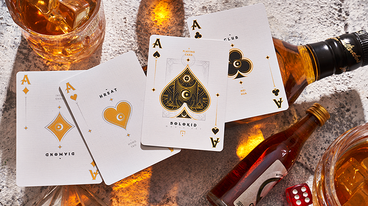 Solokid Gold Edition Playing Cards By Solokid Playing Cards