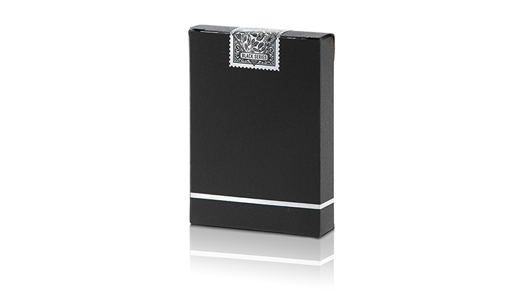 Limited Edition Butterfly Playing Cards (black And Silver) By Ondrej Psenicka