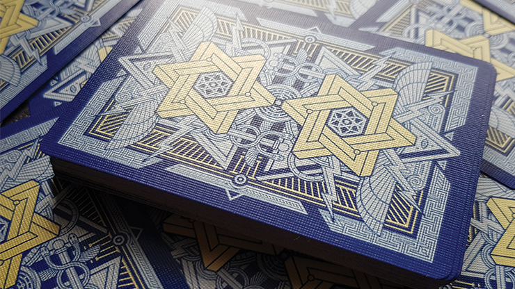 Pantheon Azure Playing Cards By Giovanni Meroni
