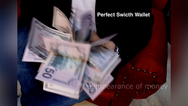 Perfect Switch Wallet By Victor Voitko (gimmick And Online Instructions) - Trick