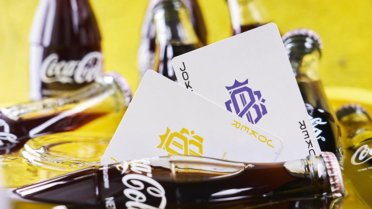 Purple Cardistry Playing Cards By Bocopo