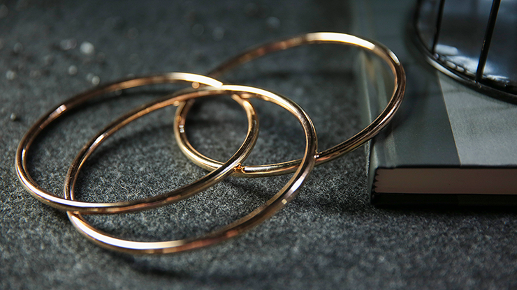 """4"""" Linking Rings (gold) By Tcc - Trick"""