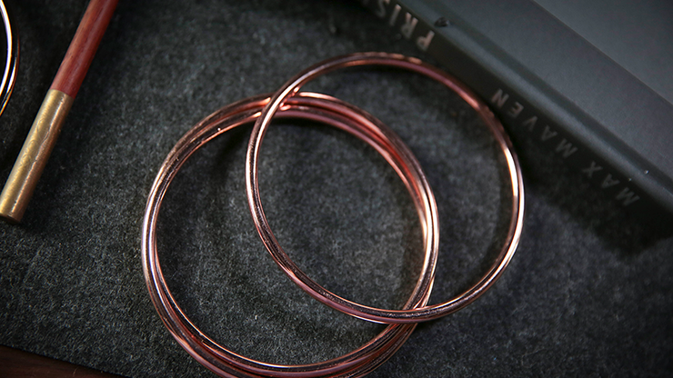 """4"""" Linking Rings (rose) By Tcc - Trick"""