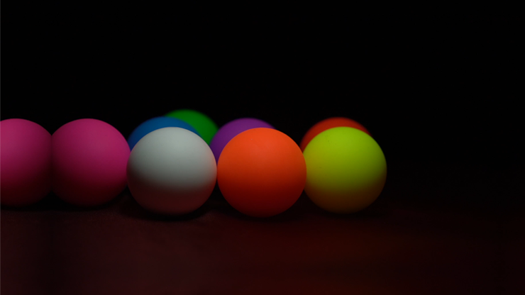 Perfect Manipulation Balls (1.7 Multi Color; Red Green Orange Yellow) By Bond Lee - Trick
