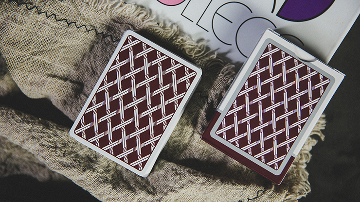 Card College (Red) Playing Cards By Robert Giobbi And Ark Playing Cards